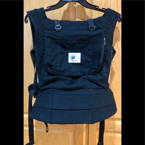 ERGO Black and Tan Baby Front Carrier